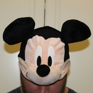RARE Disney Park Mickey Mouse ears w/body hat